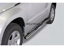 Side Steps Suzuki Grand Vitara 05-12 3D Stainless Steel GPO