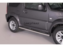 Side Protections Suzuki Jimny 2012+ Stainless Steel Tube 63MM