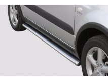 Side Protections Suzuki SX4 06-08 Stainless Steel Oval