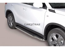 Side Steps Suzuki Vitara 2015+ Stainless Steel W/ Platform