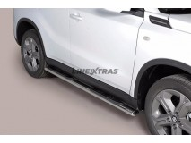 Side Steps Suzuki Vitara 2015+ Stainless Steel GPO