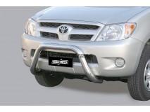 Big Bar U Toyota Hilux 06-11 Stainless Steel 76MM W/EC