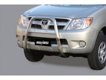 Grelha Toyota Hilux 06-11 Inox
