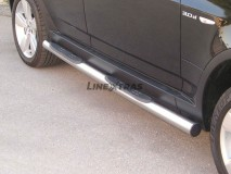 Side Steps BMW X3 03-05 Stainless Steel Tube 76MM