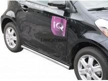Proteções Laterais Toyota IQ 2009+ Inox Tubo 50MM
