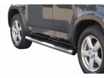 SIDE STEPS TUBE INOX 4D RAV 4 2006