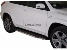 Side Steps Toyota Rav 4 10-12 Stainless Steel W/ Platform