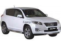 Front Protection Toyota Rav 4 10-12 Stainless Steel 76ММ
