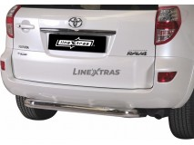 Rear Complete Protection Toyota Rav 4 10-12 Stainless Steel 76MM