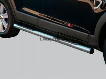 Side Steps Chevrolet Captiva 06-10 Stainless Steel Tube 76MM