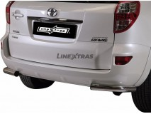 Bumper Corners Toyota Rav 4 10-12 Stainless Steel 63MM
