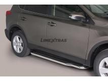 ESTRIBOS INOX 4P. RAV 4 2013