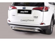 Rear Protection Toyota Rav 4 2016+ Stainless Steel 76MM
