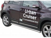 Side Protections Toyota Urban Cruiser 2009+ Stainless Steel Tube 63MM
