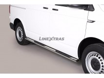 Side Steps VW T6 2015+ SWB Stainless Steel GPO