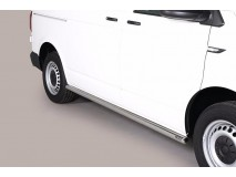 Side Protections VW T6 2015+ SWB Stainless Steel Tube 63MM