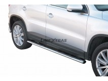 Side Steps VW Tiguan 08-11 Stainless Steel GPO