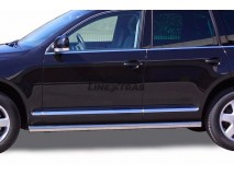 Side Protections VW Touareg 02-09 Stainless Steel Tube 76MM
