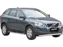 Front Protection Volvo XC60 09-13 Stainless Steel 76ММ