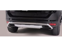 Rear Protection Volvo XC60 2014+ Steel 50MM