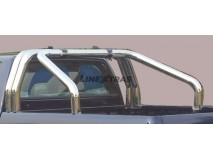 Double Roll-Bar VW Amarok DC 2010+ Stainless Steel W/O Sidebar