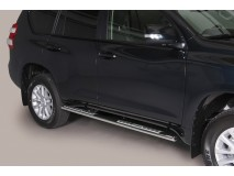 Side Steps Toyota Land Cruiser 2018+ 5D Stainless Steel DSP