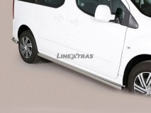 SIDE STEPS TUBE INOX CITROEN BERLINGO 2008