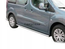 OVAL SIDE STEPS INOX CITROEN BERLINGO 2008