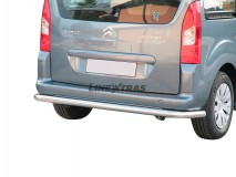 REAR BUMPER INOX 76MM CITROEN BERLINGO 2008