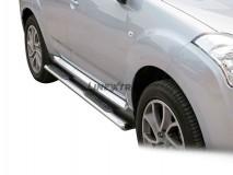 Side Steps Citroen C-Crosser 2008+ Stainless Steel GPO