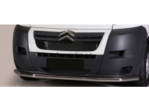 Front Protection Citroen Jumper 06-13 Stainless Steel 63MM