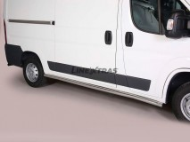 Side Protections Citroen Jumper 2006+ MWB Stainless Steel Tube 63MM