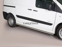 Side Protections Citroen Jumpy 06-15 SWB Stainless Steel Tube 63MM