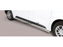 Side Protections Citroen Jumpy 2016+ MWB Stainless Steel Tube 63MM