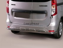 Rear Protection Dacia Dokker Stainless Steel 63MM
