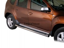 Side Steps Dacia Duster Stainless Steel Tube 76MM
