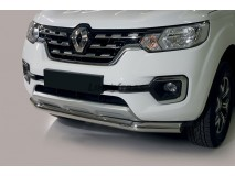 Front Protection Renault Alaskan Stainless Steel 76ММ