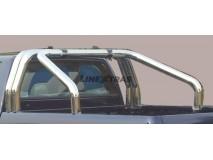 Double Roll-Bar Renault Alaskan Stainless Steel W/O Sidebar