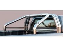 Double Roll-Bar Renault Alaskan Stainless Steel W/ Sidebar