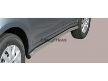 Side Protections Daihatsu Terios 06-09 Overfender Version Stainless Steel Tube 63MM