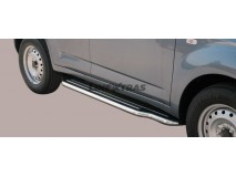 Side Steps Daihatsu Terios 2009+ Stainless Steel W/ Platform
