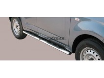 Side Steps Daihatsu Terios 2009+ Overfender Version Stainless Steel GPO