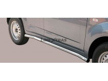 Side Protections Daihatsu Terios 2009+ SX/CX Version Stainless Steel Tube 63MM