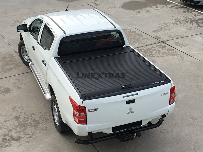 Top Roll Mitsubishi L200 2015+ DC Black Mountain Top