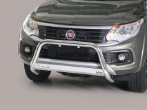 BIG BAR U INOX 63mm FIAT FULLBACK C/ECE