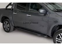 Side Steps Mercedes-Benz X Class 2017+ Stainless Steel Black W/ Platform