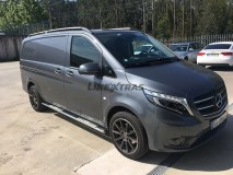 Side Steps Mercedes-Benz Vito 2010+ SWB Stainless Steel DSP