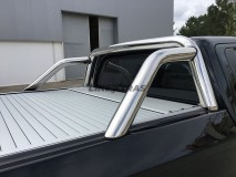Roll-Bar Stainless Steel Mitsubishi L200 2015+ DC Mountain Top