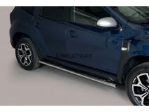 Side Steps Dacia Duster 2018+ Stainless Steel GPO
