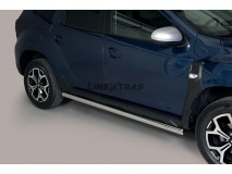 Side Protections Dacia Duster 2018+ Stainless Steel Tube 63MM